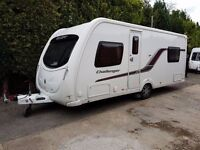 2012 Swift Challenger 540 4 berth caravan FIXED BED, MOTOR MOVER, Awning !!