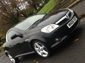 2006 VAUXHALL TIGRA 1.4 EXCLUSIVE CONVERTIBLE WITH 12 MONTHS WARRANTY