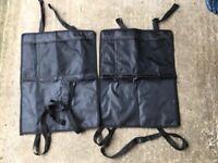 Car seat protectors x 2