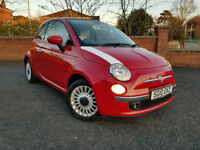 Fiat 500 Convertable 2010 mini smart car mx5 z3 reduced from £3995 NOW only £3695
