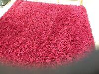 Burgundy /Red rug