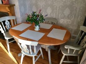 Beautiful wooden dining room table for sale