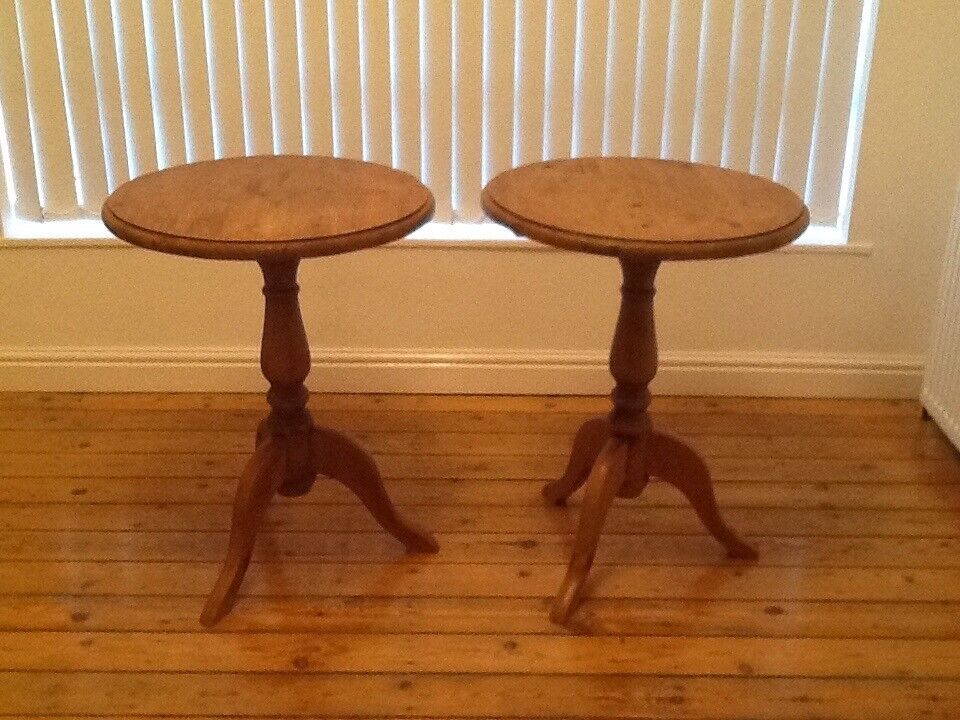 2 x small pine folding tables in roundhay west yorkshire gumtree