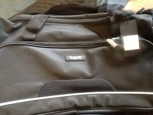 3 Bugatti  duffle bags, Roots-brand new, value of over $100