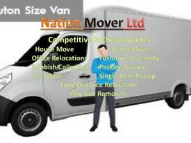 NATION MOVERS-House Office Piano Furniture Moving Rubbish Removals Man and Van Packing Service