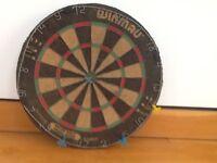 Dart board in excellent condition