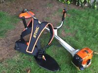 stihl fs400 strimmer brushcutter ready for work ++++++++++++++++++++++++++++++