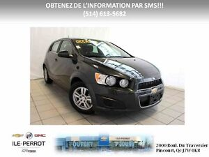 2016 CHEVROLET SONIC 5 LT TURBO, CAMERA, AUTO, MAGS