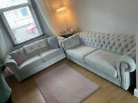 CLEARANCE OFFER CHESTERFIELD 3+2 SOFA SET IN MANY COLOURS
