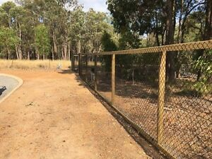 Security fence repairs. Greenwood Joondalup Area Preview