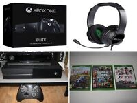 Xbox One Elite 1TB storage with controller bundle