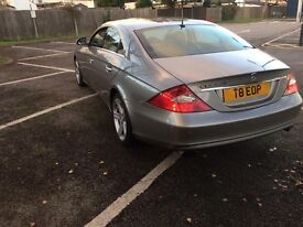 MERCEDES CLS 320 CDI AUTOMATIC 4 DOORS .SELLING WITH THE PRIVATE PLATE MOT SEP 2017 READY TO DRIVE