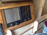 Old valve radios