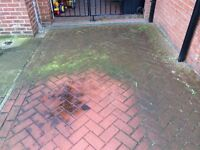 Pressure washing/jet washing service. PPW provide high pressure cleaning of all external areas.