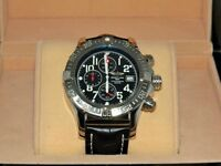Breitling watch leather strap