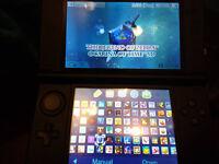 Blue 3DS XL with 121 Best 3DS Games worth £1600 - Pokemon, Mario, Sonic, Zelda