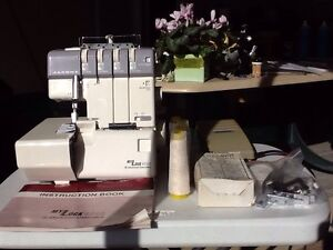 Janome overlock   My lock 634D  electronic control Safety Bay Rockingham Area Preview