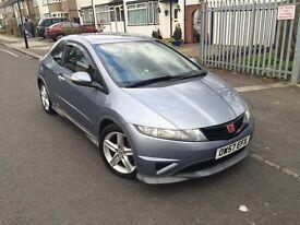 **£2400 p/x** 2008 Honda Civic 1.8i-VTEC TypeS GT 3DR (Type R Replica)