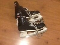 Men's ice skates, Bauer size 12