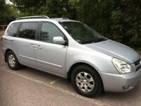 kia sedona 2.9 diesel ls 7 seater mpv 2007/07 plate with 134k and a april 2019 mot..