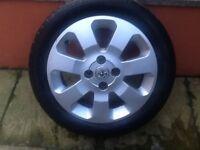 Vauxhall Corsa 15 inch alloy wheel