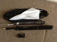 Photography lighting accessories, umbrella, konig stand