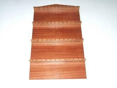 48pc Wooden Spoon Display Rack ( Mahogany )( huge range - see list )