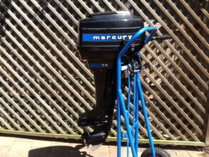 Mercury outboard 7.5hp Boronia Heights Logan Area Preview