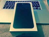 I phone 7 plus 256/128 Gb Matt black Unlocked from apple store Quick sale.