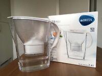 Brita filter jug with filter cartridges