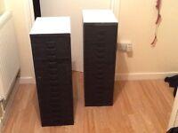 15 drawer file cabinet