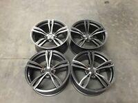 """19"""" Inch BMW F10 M5 Style Alloy Wheels E90 E91 E92 E93 F10 F11 F30 F31 F32 F36 3 4 5 series 5x120"""