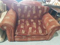 Snuggle small 2 two seater armchair