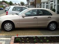 MERCEDES C180K+AUTOMATIC+FULLY HPI CLEAR REPORT+FULL SERVICE HISTORY+2KEY+VERY WELL MAINTAIN CAR