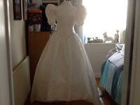 New vintage wedding dress
