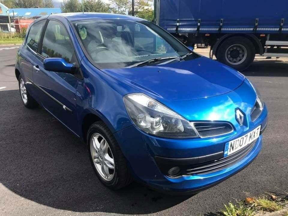 Clio 1.4 2007 CHEAP!!! £895 IDEAL FIRST CAR OR RUNAROUND