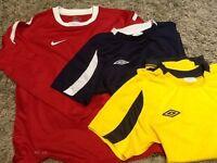 3 boys sports t-shirts