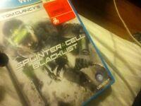 Spliter cell Blacklist pour Wii u