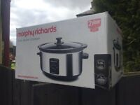 BRAND NEW BOXED MORPHY RICHARDS OVAL SLOW COOKER 3.5L BARGAIN AT £15