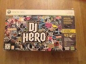 Xbox 360 DJ Hero Turntable Kit