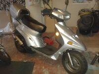 moto roma gogo 50cc / no mot / no v5c documents