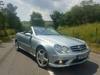 2008 (08) Mercedes CLK200 S Convertible Full Factory AMG Pack