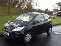 2014 14 PLATE FORD KA EDGE 1242cc VERY LOW MILEAGE ONLY 43k FULL MOT CHEAP ROAD TAX ONLY £30 A YEAR