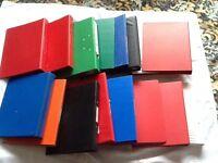 16 x A4 hard back folders