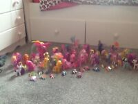 My little pony massive bundle excellent condition 57 piece