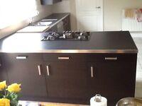 IKEA black kitchen