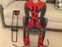 Childs rear cycle seat