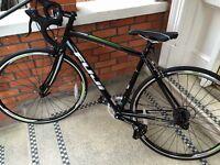 Black Fuji Road bike for sale - like new