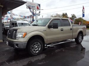 2010 Ford F-150 CREW CAB XTR 4X4 , TOW PACKAGE !!