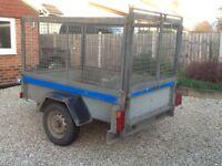 Indespension 6x4 caged trailer 13kg